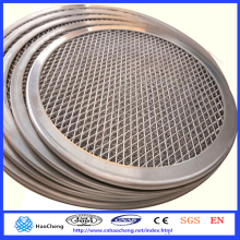 Seamless Rim Aluminium Mesh Pizza Screen Net