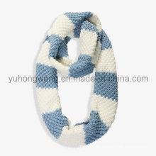 Bufandas hechas a mano del ganchillo del acrílico, bufanda
