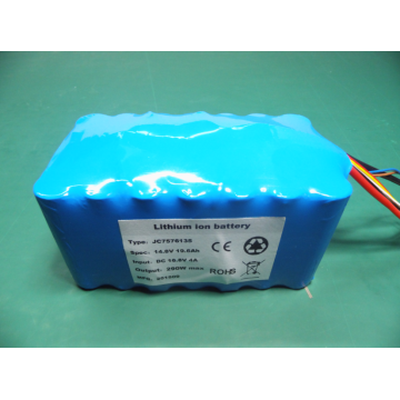 High capacity military rechargeable lithium battery pack