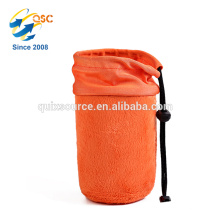 Neoprene Drawstring Camera Lens Pouch Bag Cover size S M L XL