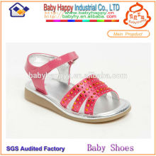 Chaussure en cristal à talons hauts pour sandales enfants