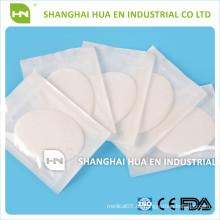 Medizinische Klebstoff Natürliche Baumwolle Sterile Augen Pads