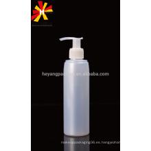 200ml botella de jabón líquido de plástico para el paquete de champú