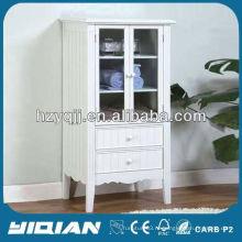 Красивая домашняя мебель Высокий тонкий шкаф для хранения Роскошный шкаф для ванной комнаты
