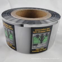 Custom Design Shrink Film for Bottle on Roll (MS-SL006)