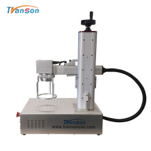 Marcador láser de fibra de plástico de metal de mano asequible