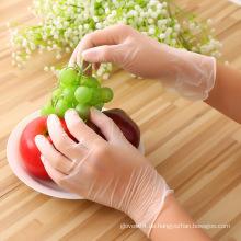 PVC-Handschuh in Lebensmittelqualität