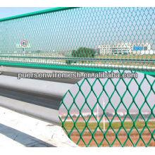 Highway Guardrail hierro de diamante expandido malla de alambre (BS4592-1-1995-GB1220-92)