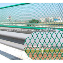 Highway Guardrail Diamond iron Expanded Wire Mesh (BS4592-1-1995-GB1220-92)
