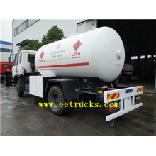 10cbm 5MT LPG Gas Cylinder Filling Trucks