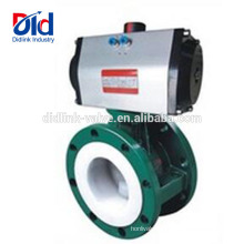 4 Inch Vanessa Cast Steel Double Action Electrically Actuated Butterfly Valve Flange Connection