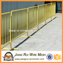 Removable road crowd control barricades for sale / crowd control barrier
