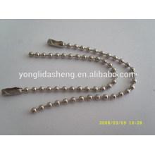 Resonable price handbags metal chain for decoration