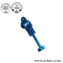 Barra de conexión de aluminio de color azul duro Anoziding