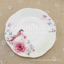 Volume Supply Porcelain Enameled Custom Dinner Plate