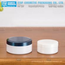 WJ-EQ Serie spezielle empfohlen 50g und 100g einlagige glänzend beenden schöne Anteil rund pp kosmetische Glas Verpackung