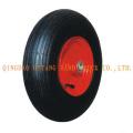roda de borracha padrão de linha estreito de 4.00-6