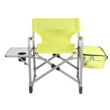 Ligero Steel Beach Sun Lounge con mesa de Copa plegable silla