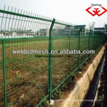 Alibaba Porzellan gute Qualität PVC beschichtet verzinkt Zaun Netz / 3 D Zaun (SGS Zertifikat & ISO9001)