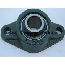 Rolamento de esferas da inserção do aço inoxidável com carcaça de rolamento (UCFL206)