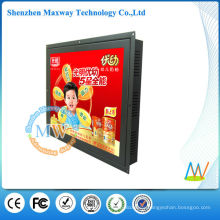 1080P open frame 15 inch digital signage advertising display