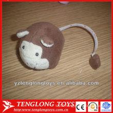 2013 new design children toy tape sheep shaped plush tape measure