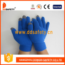 Blue for iPhone Smart Touch Gloves Dkd436