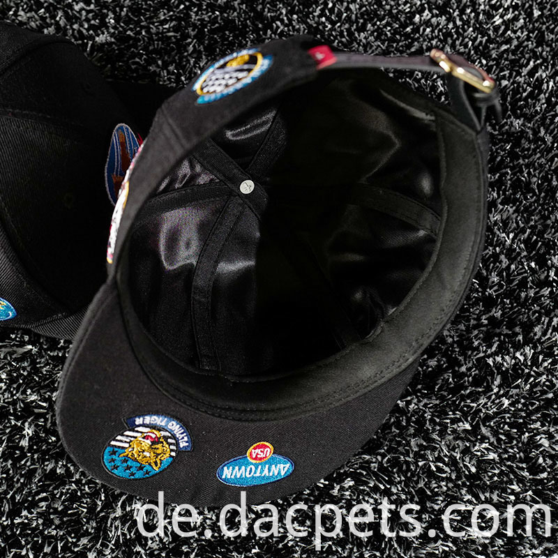 Custom 3d Embroidery Leisure Cotton Snapback Cap 2