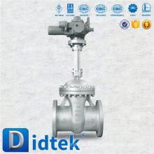 Acero al carbono de Didtek OS & Y Válvula de compuerta eléctrica de vástago ascendente