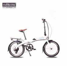 2017 heißestes 36v350w 20 '' faltendes preiswertes elektrisches Fahrrad mit versteckter Batterie, faltbares E-Fahrrad