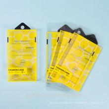 Zeigen Sie neuen Blasen-PVC-Plastikgewohnheits-Verpackungs-freien Kasten für Handy-Fall an