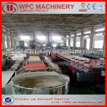Wpc perfil / placa / porta máquina wpc máquina de polímero de madeira