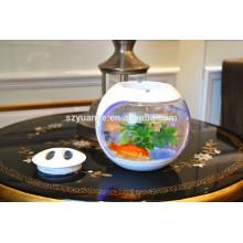 Tanque de peixes esperto do aquário do vidro nano