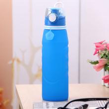 Sport Wasserflasche tragbar | Silikon in Lebensmittelqualität