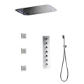 HIDEEP Wall Mounted Led Shower Faucet Set