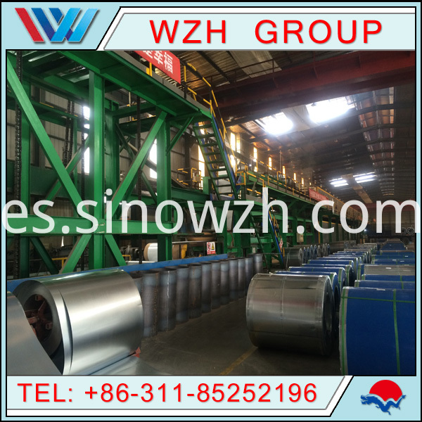 ppgi coil production line