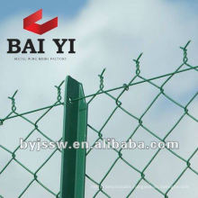 Garden Fences Pvc Coated Chain Link Fence