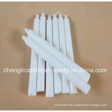 Household Paraffin Wax Cheap Milky Snow Pure White Candle Wholesale