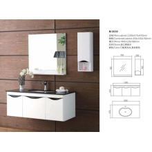 Armário de suspensão moderno da vaidade do banheiro