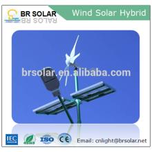 Простая Установка запустить Бриз ветра турбины и солнечные панели гибридная система 1000 Вт