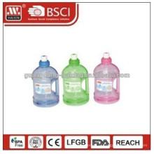 Новый дизайн 2014 с лучшим бутылку пластмассовый насос Цена, безвоздушного бутылка насоса с вращения насоса, уникальный косметический контейнер