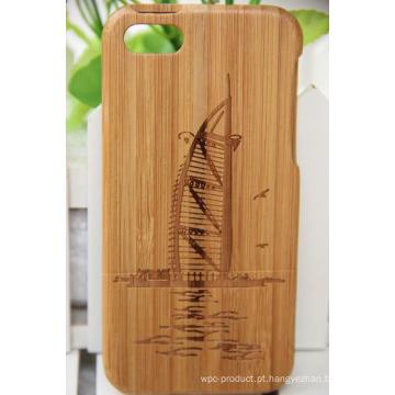 Estojo de madeira Snap Cover revestido para iPhone 6 / 6s (4.7 Display)