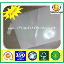 80mic tranparent PVC Sticker