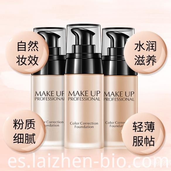 Natural Moisturizing Liquid Foundation