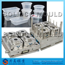 Plastic lunch box thin wall mould/injection mould