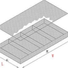 6*2*0.3m Galvanized Woven/PVC Coated Gabion Reno Mattress