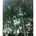Poste de limpieza de ventana alimentado por agua CNER de 40 pies / postes telescópicos de carbono para poste de canalón