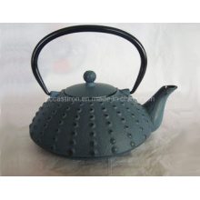 0.8L Chinese Printed Enamel Cast Iron Teapot with Cups