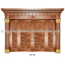 Copper Door KK-700 Big House Door For Villa Design With High Quality