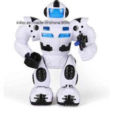 Мини Музыкант Холодный человек батареи робота Дети Детские пластиковые игрушки